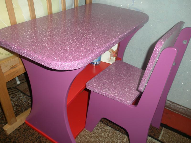 Сделать детский стульчик и столик своими руками